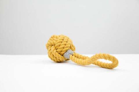 MaxBone Hobie Sun Mini Rope Dog Toy