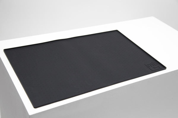 MaxBone Noir Dish Mat for Dogs and Cats