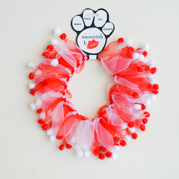 Smoocher: Candy Cane Fuzzy Wuzzy for Dogs and Cats