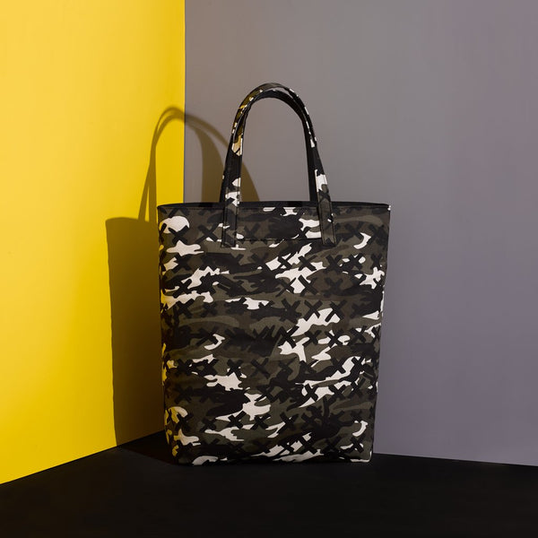Mr Dog New York Camo X Tote Black