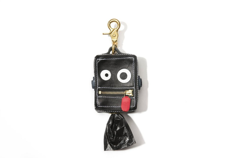 Mr Dog New York Roboto Dog Poop Bag Dispenser Black