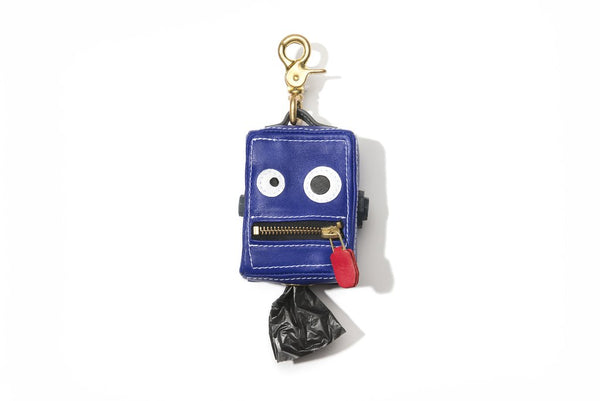 Mr Dog New York Roboto Dog Poop Bag Dispenser Cobalt