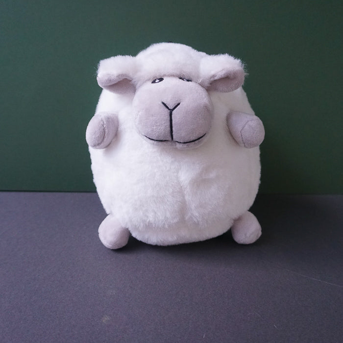 Solomon the shortleg Sheep Squeaky Plush Dog Toy