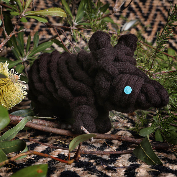Dog Toy: Wally the Wombat