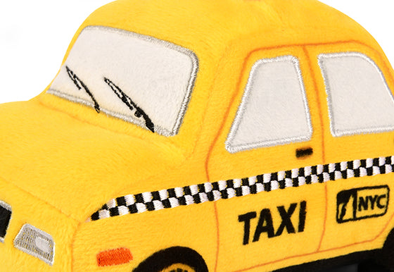 P.L.A.Y. Canine Commute Plush Dog toys: New Yap City Taxi