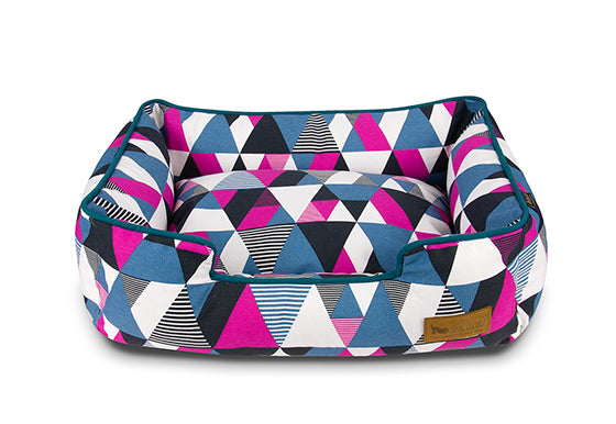 P.L.A.Y. Lounge Dog Bed Mosaic Soda Pop