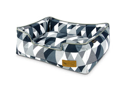 P.L.A.Y. Lounge Dog Bed Mosaic Tuxedo