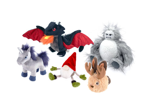 P.L.A.Y. Mythical Creatures Squeaky toys for Dogs