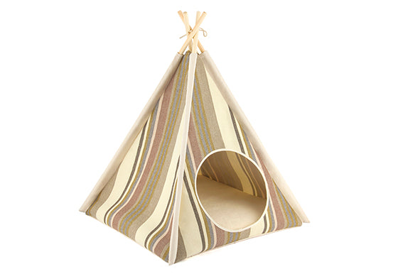 P.L.A.Y. Pet Teepee for Dogs and Cats Horizon Seacoast