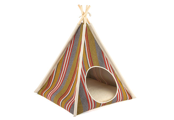 P.L.A.Y. Pet Teepee for Dogs and Cats Horizon Woodland