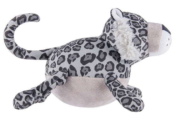 P.L.A.Y. Safari Toy Limited Edition Sasha Snow Leopard Squeaky Plush Dog toy