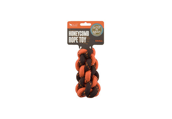 Honeycomb Rope Toy