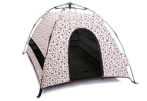 Outdoor Dog Tent in Vanilla
