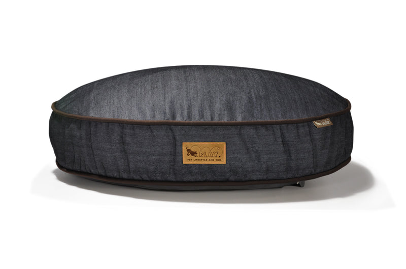 [Pre-order]Round Bed: Urban Denim MedievalBlue / Chocolate