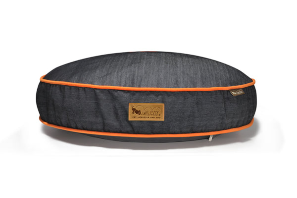 [Pre-order]Round Bed: Urban Denim MedievalBlue / Mandarin