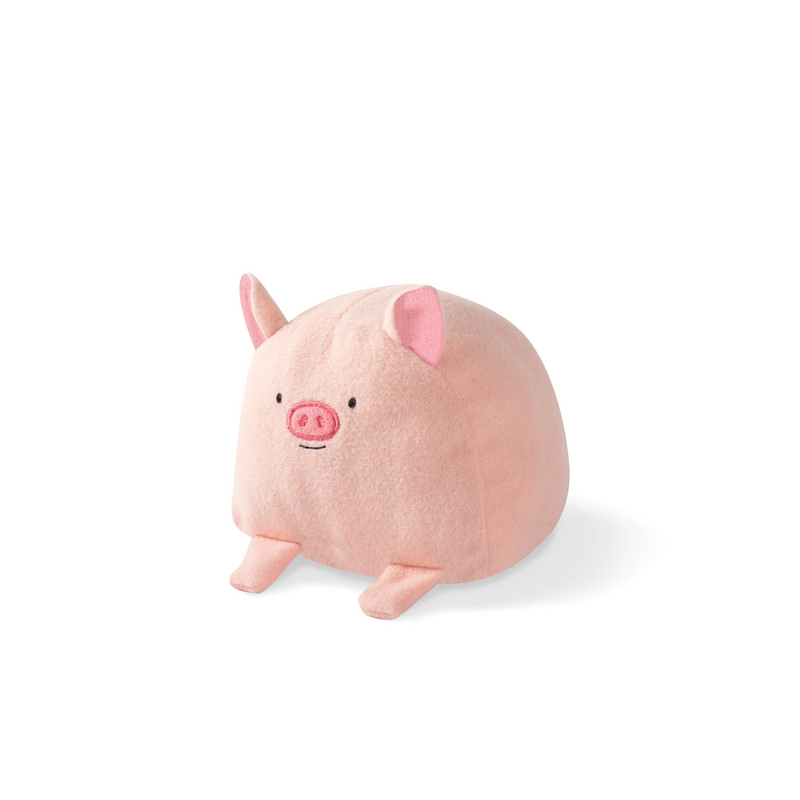 PIG Dog Spiky Squeaky Plush toy