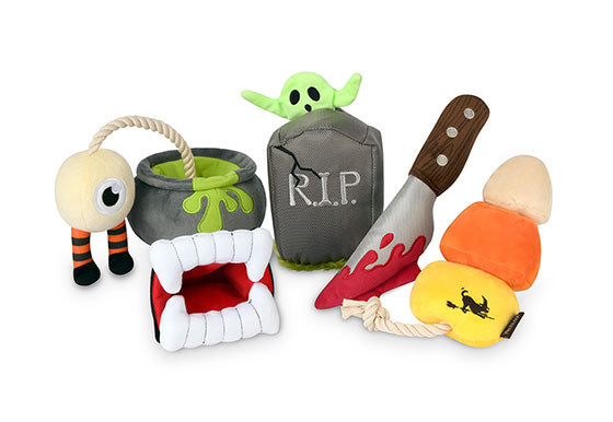 Howling Haunts Plush Dog toys