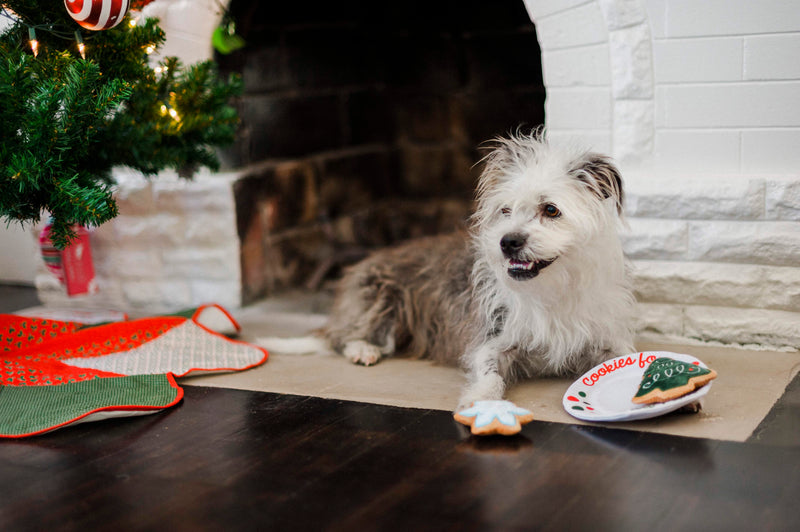 P.L.A.Y. Merry Woofmas Dog Plush toys: Christmas Eve Cookies