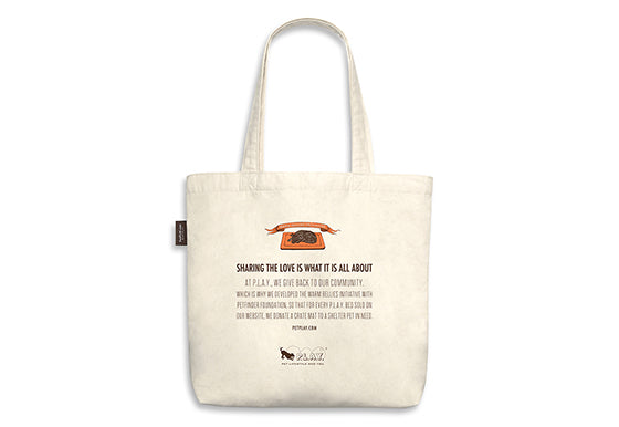 PLAY Best in Show Tote - SHEPHERD - I DON'T ALWAYS BARK