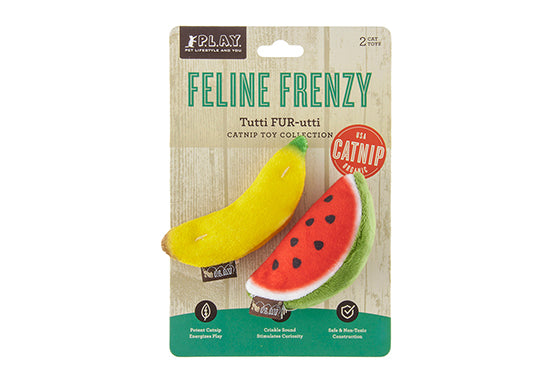 PLAY Feline Frenzy Catnip Toy Frutti Fur-utti