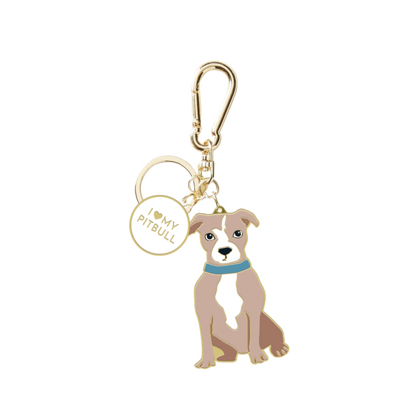 Pitbull Key Chain
