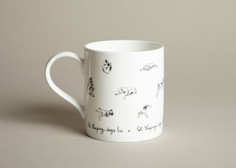 Mug: Let sleeping dogs lie