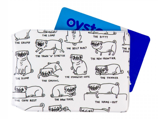 Gemma Correll Card Holder Pug Position