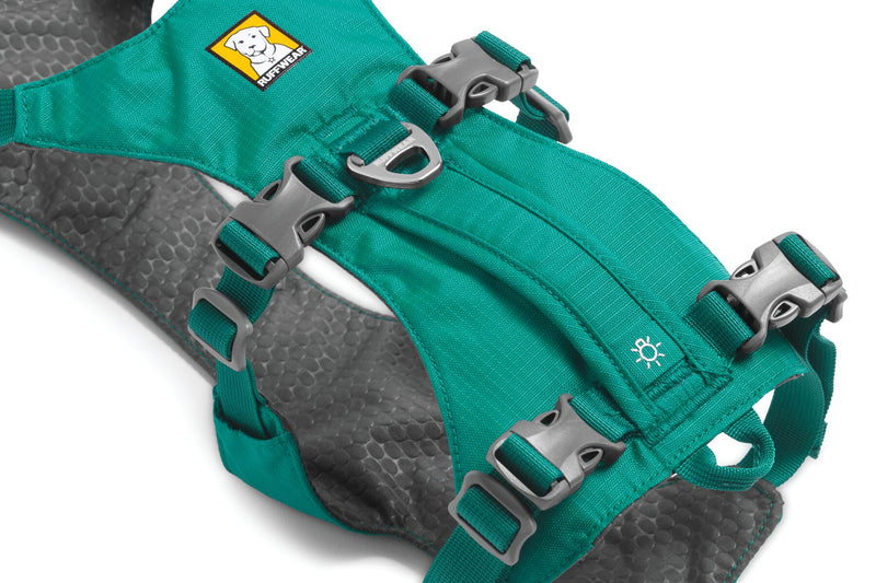 Ruffwear Flagline Dog Harness Meltwater Teal