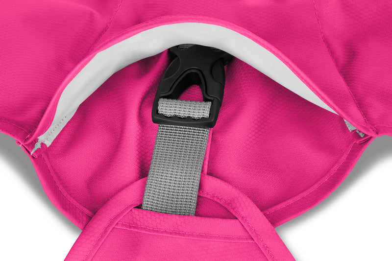 Ruffwear Rain Jacket Sun Shower Alpenglow Pink