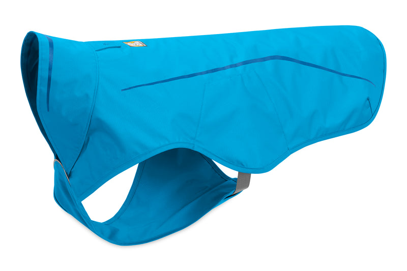Ruffwear Rain Jacket Sun Shower Blue Dusk