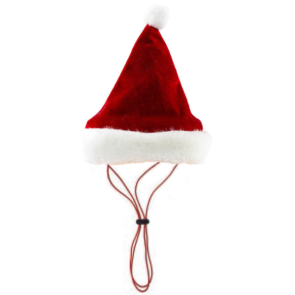 Santa Hat with Snug fit for Dogs and Cats