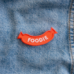 Dog Merit Badges: Foodie