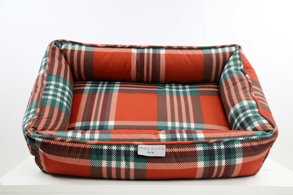 Tartan Plaid Dog Bed