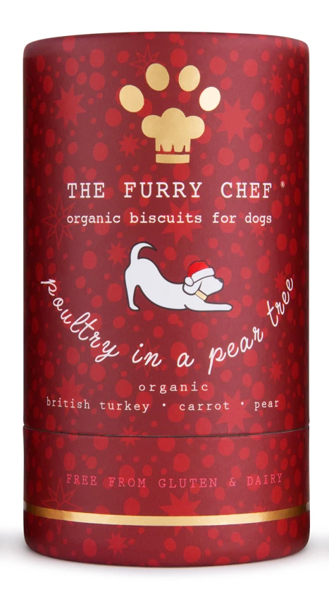 Organic Christmas Dinner Treats for Dogs: Poultry in a Pear Tree, Limited Edition
