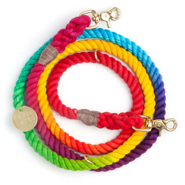 Adjustable Rope Leash, Prismatic