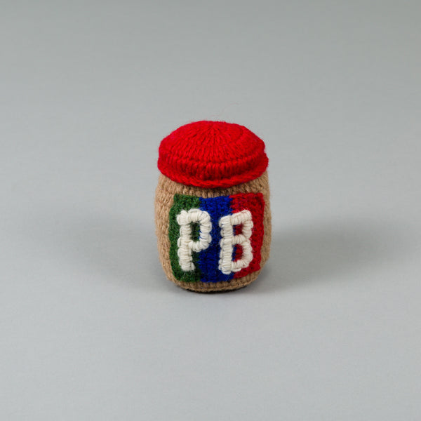 Hand Knitted Peanut Butter