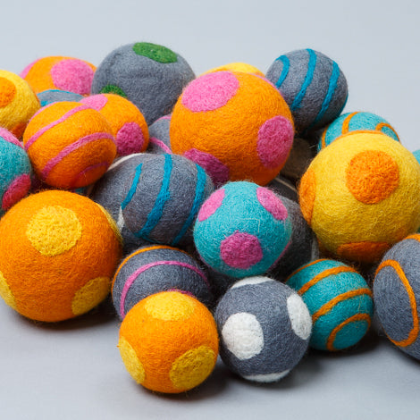 Ware of the Dog toy Boiled Wool Balls