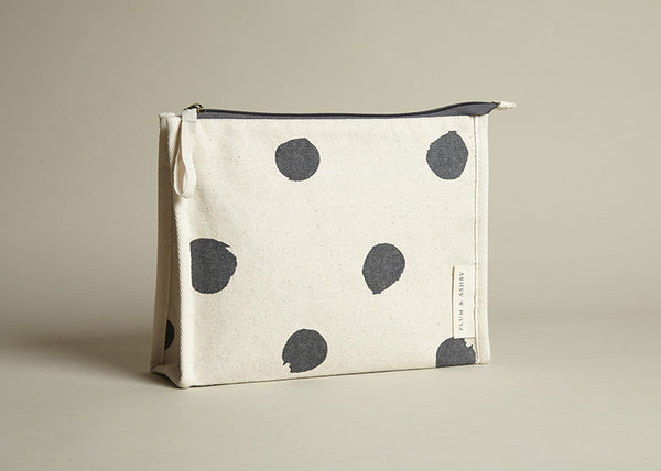 Washbag: Grey Spot