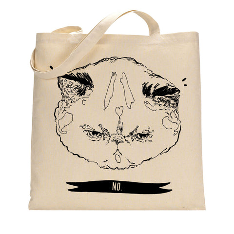 "Totes: HelloHarriet ""No"" Kitty"