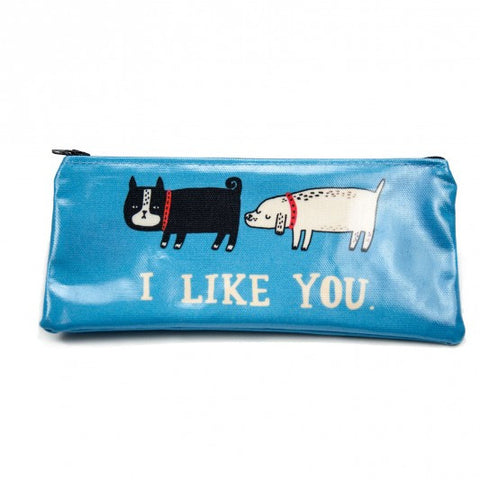 Stationery: Gemma Correll I Like You pencil case