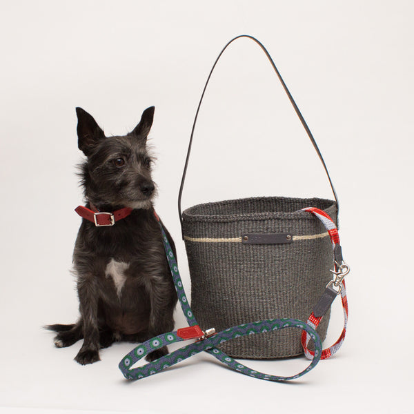 Hiro+Wolf Sisal basket: Medium Dark