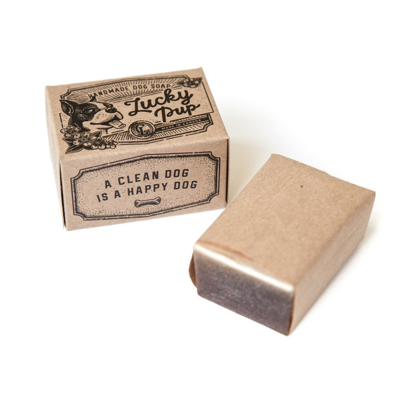 Loyal Canine Co Lucky Pup Dog Soap unbox
