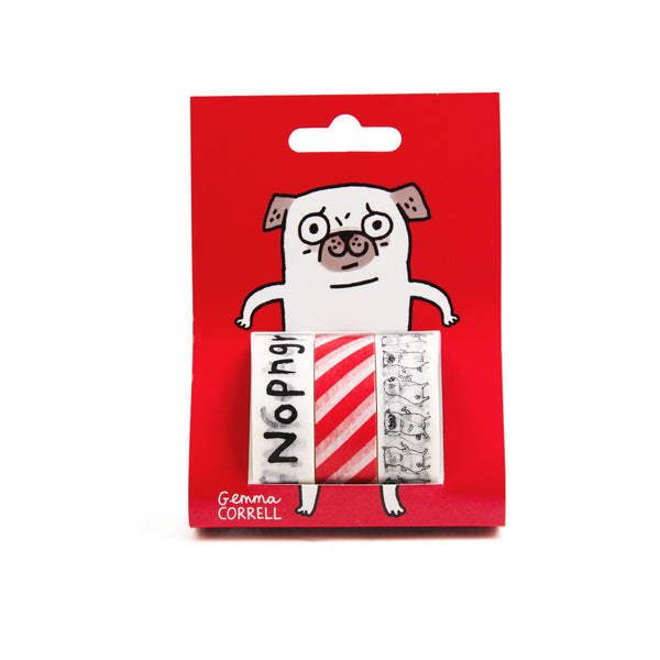 Stationery: Gemma Correll Pack of 3 Washi tape