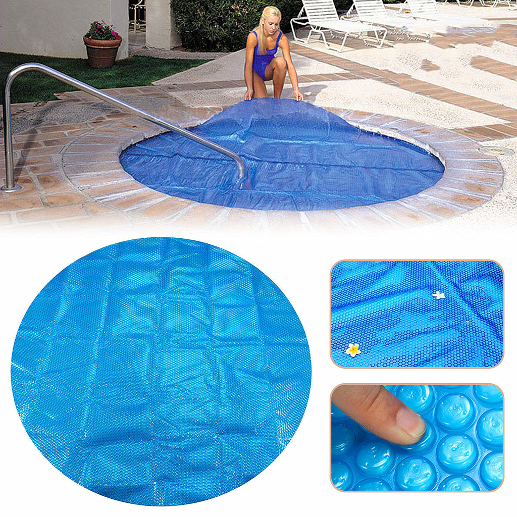 7x7ft Round Hot Tub Heat Retention Cover Bubble SPA Thermal Blanket