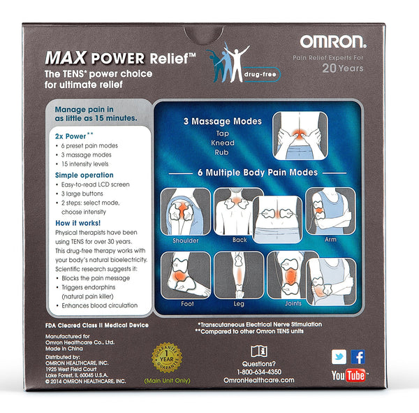 Omron(R) PM3032 ElectroTHERAPY Max Power Relief