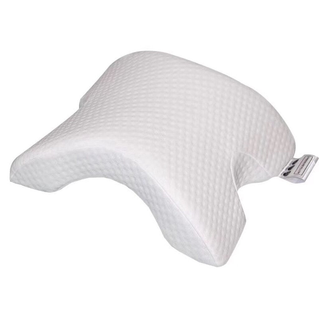 Home Bed Orthopedic Neck Pillow Travel Memory Foam Slow Rebound Neck Hand Arm Protection Soft Cervical Pillow U Cushion