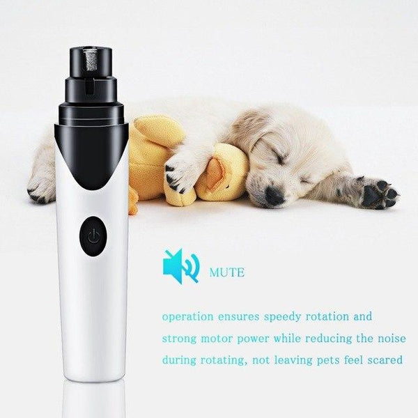 Pawfect Paw™ Pet Cat Dog Nail Grooming Grinder Electric Pet Nail Trimmer