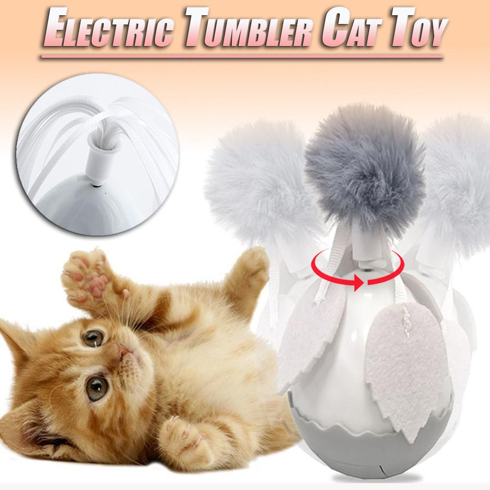 Electric Tumbler Cat Toy