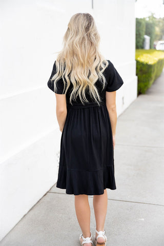 The Katie Dress - Black