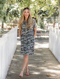 The Camo Kolbie Dress - Tickled Teal LLC